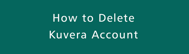 Delete-Kuvera-Account