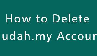 Delete-Mudah-my-Account
