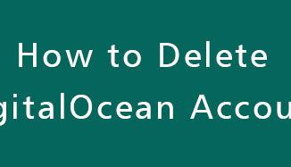 Delete-DigitalOcean-Account