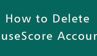Delete-MuseScore-Account