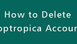 Delete-Poptropica-Account