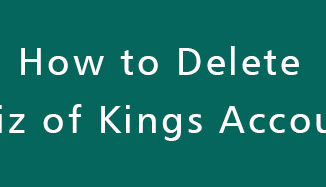 Delete-Quiz-of-Kings-Account