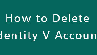 Delete-Identity-V-Account