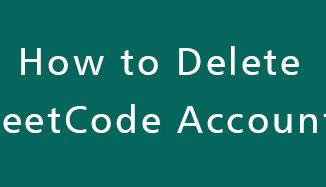 Delete-LeetCode-Account