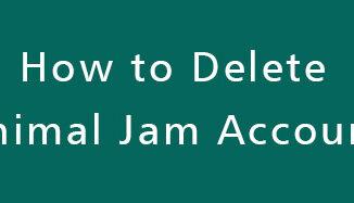 Delete-Animal-Jam-Account