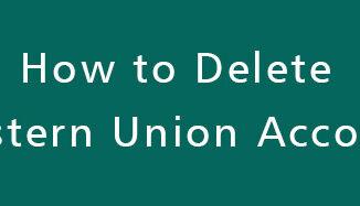 Delete-Western-Union-Account