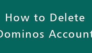 Delete-Dominos-Account